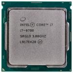 CPU Intel Core i7 9700 3,0GHz (4,7GHz) 12Mb 8/8 Core Coffe Lake Tray 65W FCLGA1151