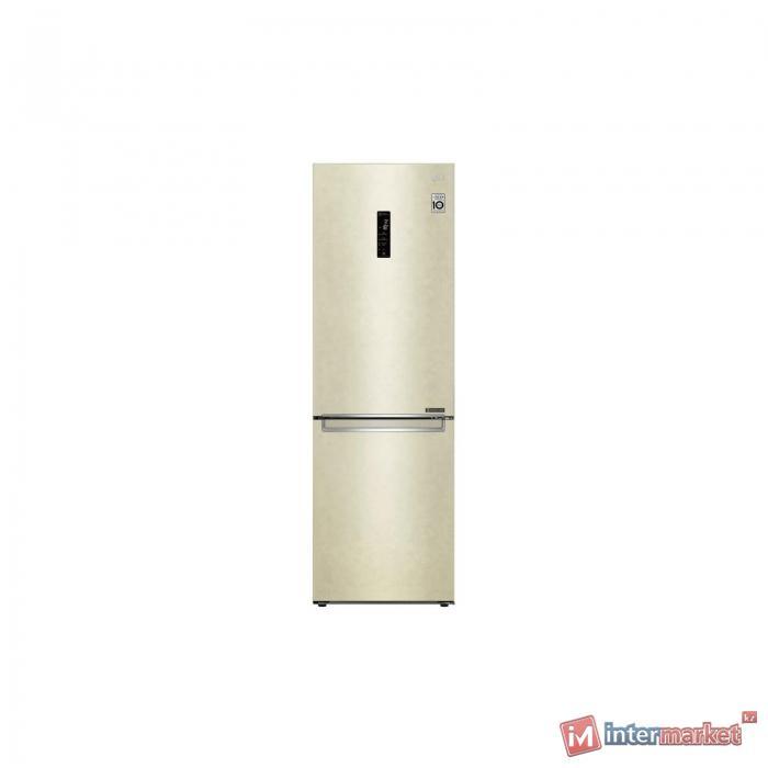 Холодильник LG GA-B459SEQZ, бежевый