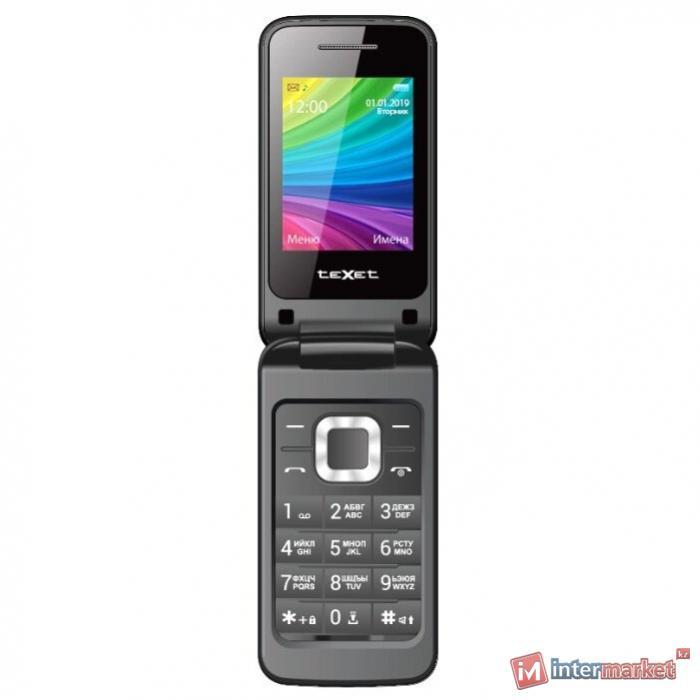 Мобильный телефон Texet TM-204 антрацит
