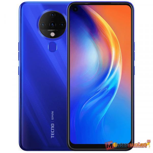 Смартфон Tecno Spark 6 Ocean Blue