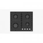Встраиваемая газовая плита DANKE 6400 C black 2